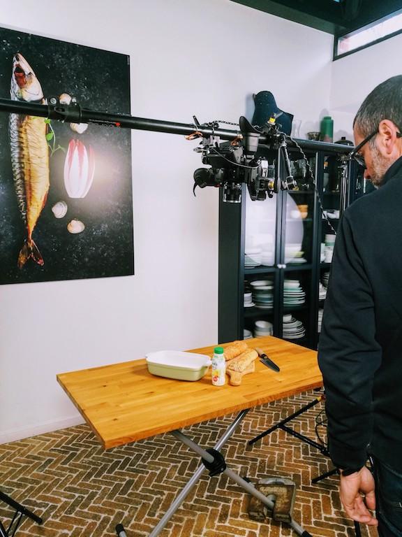 Stylisme culinaire pour vidéos